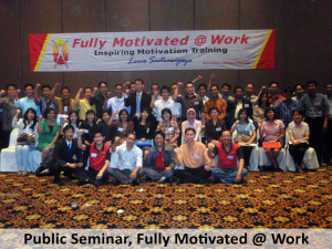 Public Seminar, Fully Motivated @ Work